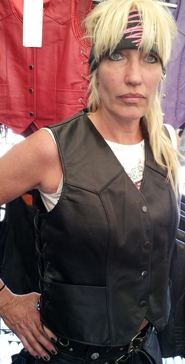 Womens motorcycle leathers sexy
