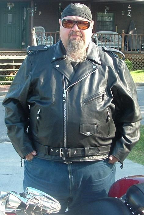 Tall Leather Jacket Big Leather Jacket, Stout Leather, Fat ...