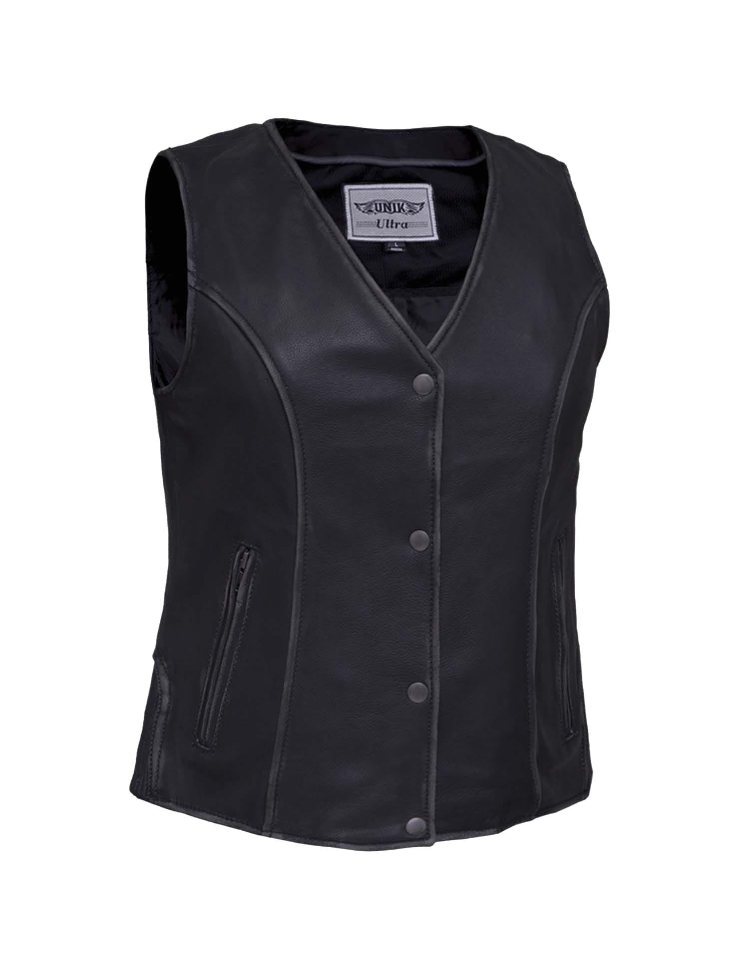 ff6f9fb1d582 Ladies Durango Gray Ultra Motorcycle Vest