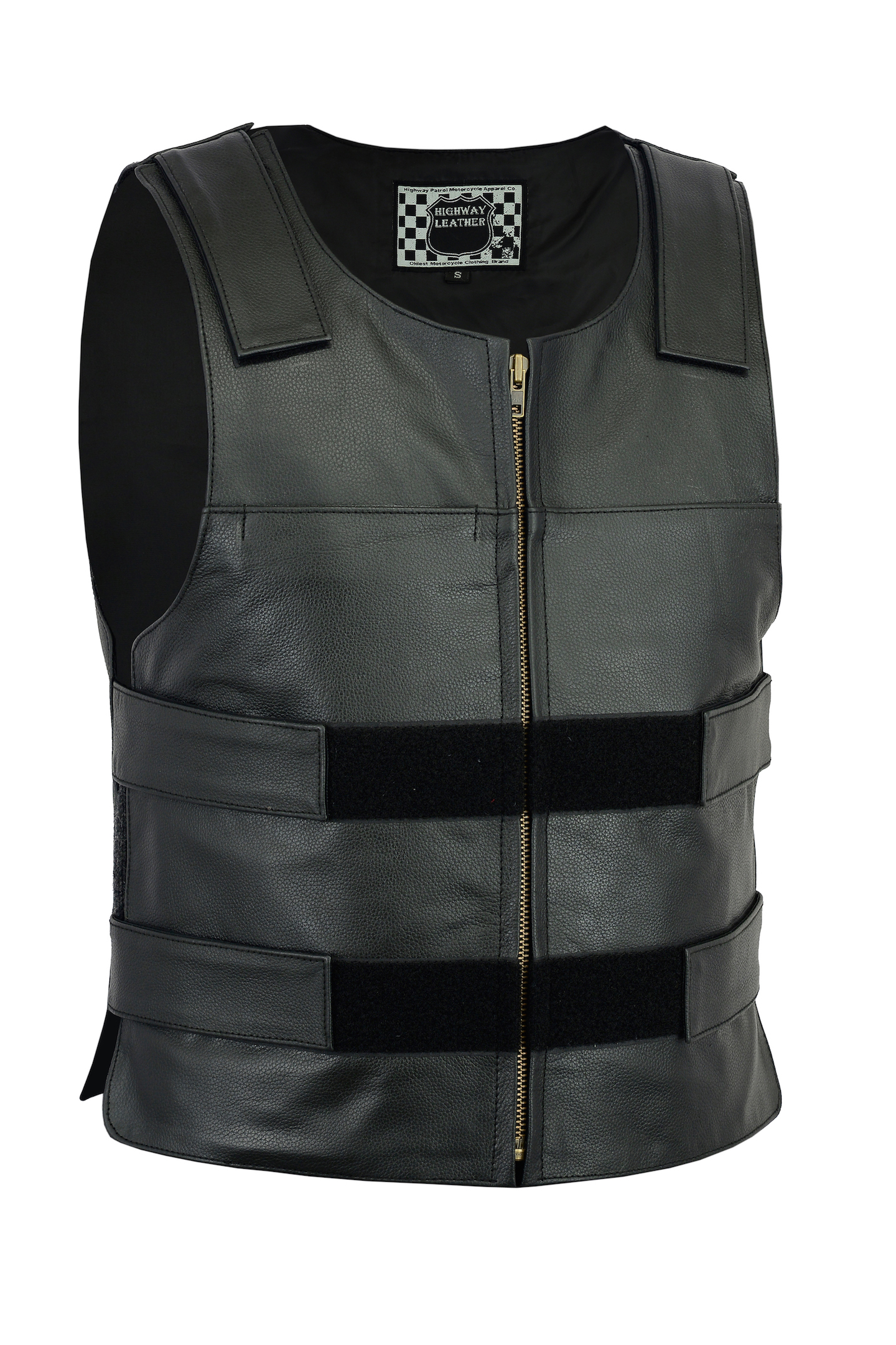 72df35359eb6 Bulletproof Style tactical street leather vest